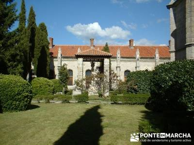 Monasterio de Santa María de El Paular; grupos para hacer senderismo; excursiones senderismo